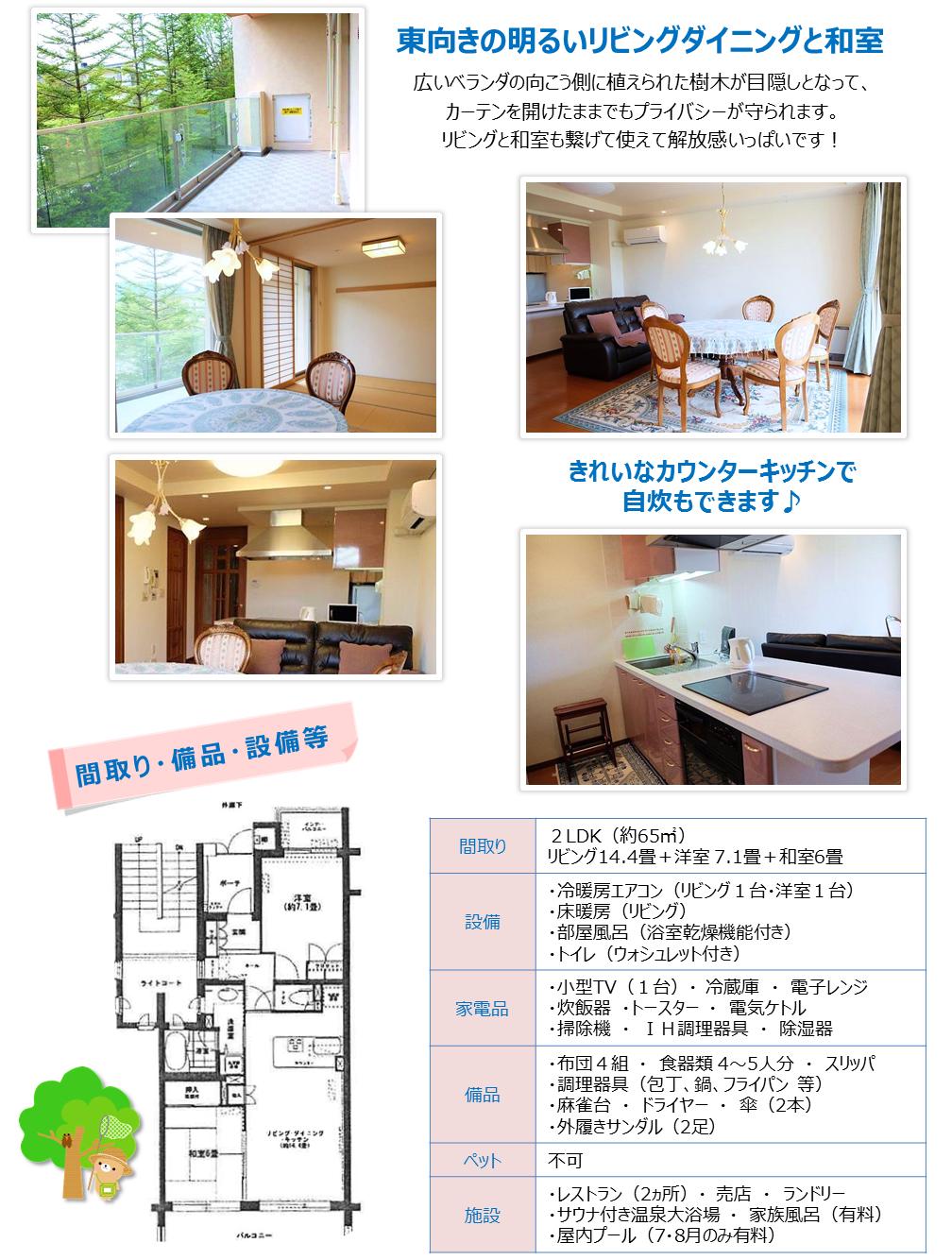 軽井沢 リゾート物件情報